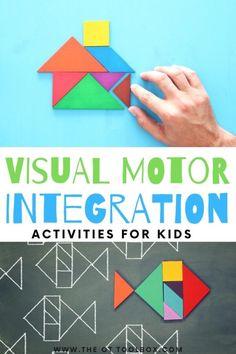 Visual Motor Skills - The OT Toolbox
