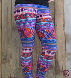 These leggings are ready to rave, are you? With bright colors and bold designs , these leggings scream R-A-V-E! Throw your hands up in the air and dance like you don't care with these all the rage, ready for the rave leggings today!