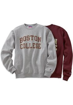 Product: 1209F Boston College Crewneck Sweatshirt maroon