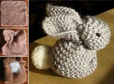 Knitted Bunny Tutorial