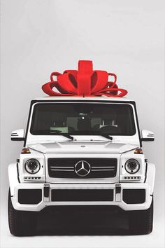 Becky's Everyday vehicle: Mercedes G Wagon