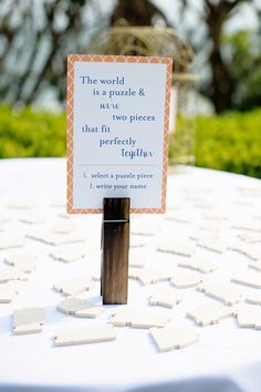 Great idea for a guest book