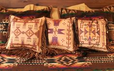 New Native American pillow collection, now available at www.stargazermercantile.com!