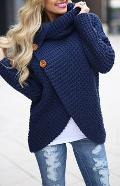 Defy the cold season with these knitted sweaters. - Beautiful fluffy collar - With a hoodie - Long sleeve - 2 button desing - round neck - available in different colors Care: Hand wash in cold water and dry flat for drying. Casual Outfits, Cute Outfits, Fashion Outfits, Womens Fashion, Dress Casual, Dress Fashion, Fashion Shoes, Fall Winter Outfits, Autumn Winter Fashion