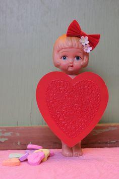 Valentine Love Heading to Etsy Vintage Valentines, Valentine Crafts, Valentine Day Gifts, Valentine Ideas, Saint Valentine, Be My Valentine, Broken Doll, Fairy Crafts, Valentines Day Decorations
