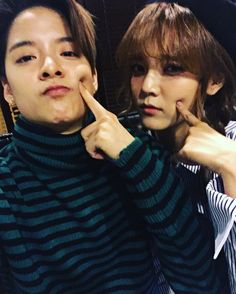 Amber J. Liu and Jimin /  Instagram
