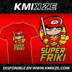 #superfriki #friki #startrek #starwars #frikismo #mario #pokemon #superhero #kmikze
