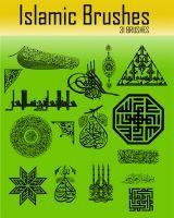 Islamic Brushes by archnophobia