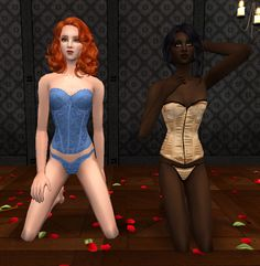 Lingerie for The Sims 2 (TS2)