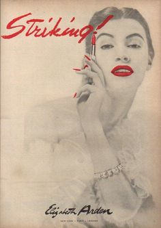 Elizabeth Arden advert (1951)