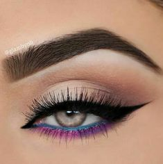"""Find and save images from the """"make up ideas"""" collection by Alina Kolomoyets (alina_kolomoyets) on We Heart It, your everyday app to get lost in what you love. Makeup Eye Looks, Eye Makeup Art, Beautiful Eye Makeup, Smokey Eye Makeup, Skin Makeup, Eyeshadow Makeup, Beauty Makeup, Hair Beauty, Makeup Goals"""