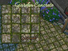 emerald's Garden concrete floor