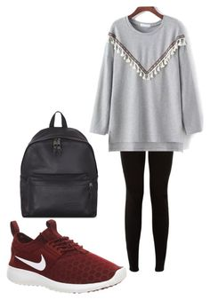 """""""Untitled #64"""" by jkal-shirazi on Polyvore featuring NIKE and Eastpak"""