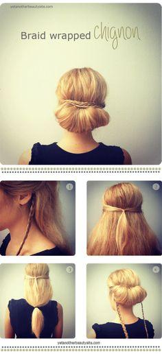 interesting hair style