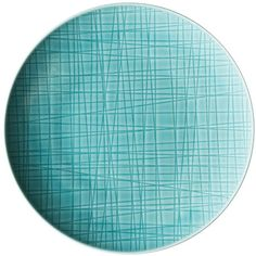 Rosenthal Mesh Bread & Butter Plate (17 AUD) ❤ liked on Polyvore featuring home, kitchen & dining, dinnerware, aqua, rosenthal dinnerware, rosenthal and aqua dinnerware