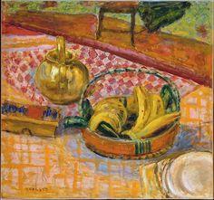 Basket of Bananas - Pierre Bonnard  Art Experience NYC  www.artexperiencenyc.com
