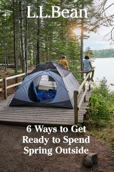 Spring hasn't quite sprung, but it's coming! That means it's time to start thinking about getting yourself, your gear and your plans in order – so you'll be ready to get outside the second the season starts. Not sure where to start? Come see how we're planning on preparing. Camping Glamping, Camping Life, Camping Hacks, Camping Cheap, Lake Camping, Outdoor Fun, Outdoor Camping, Cool Kids Bedrooms, Survival Life Hacks