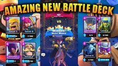 Clash Royale  Amazing New Battle Deck!  YouTube http://ift.tt/1STR6PC