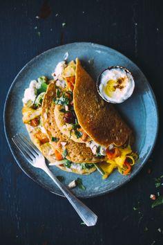 Crepes, Specialite Nicoise, La Socca, Vegan Vegetarian, Vegetarian Recipes, Vegan Food, Curry, Galette, Salmon Burgers