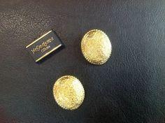 Earrings, by Ives Saint Laurent
