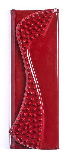 Christian Louboutin Pigalle Patent Leather Clutch
