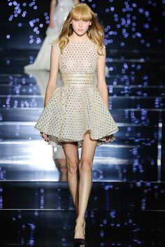 Dots. Zuhair Murad Fall 2015 Couture.