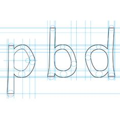 """Bold Stroke: New Font Helps Dyslexics Read [Slide Show] Dutch researcher designs distinct characters into """"Dyslexie"""" to make it more difficult for dyslexics to rotate, swap and mirror letters and numbers Mirror Letters, 26 Letters, Friends Font, Dysgraphia, Learning Disabilities, Study Tips, Study Ideas, New Fonts, Special Education"""