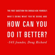 The first question you should ask yourself ...