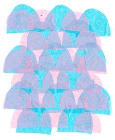 Pink lavender aqua teal turquoise