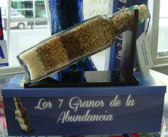 -Los 7 granos de la abundancia- Garbanzo (va al fondo) Frijol Maíz Arroz Trigo Lenteja Mostaza Para que nunca falte la prosperidad, abundancia y comida en casa, estas semillas son ideales para tener en un contenedor y ponerlas en la cocina.