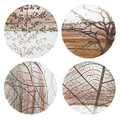 Branch Coasters (Set of 4)