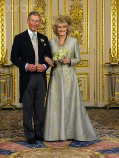 Inglaterra - 2005 Charles & Camilla