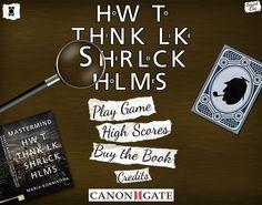 Ma chronique du jeu 'How to Think Like Sherlock Holmes ' de The Motion Monkey