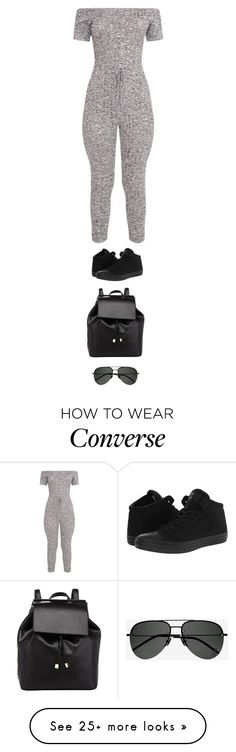 """Untitled #4057"" by twerkinonmaz on Polyvore featuring Converse, Barneys New York and Yves Saint Laurent"