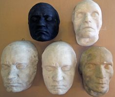 Laurence Hutton collection of life and death masks, Beethoven x5