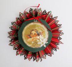 Χριστουγεννιάτικο στολίδι απο χαρτόνι και χαρτοπετσέτα με φιγούρα αγγέλου. - DIY Christmas ornament  Σαμαρτζή - Βιβλιοπωλείο - Hobby - Καλλιτεχνικά: ΙΔΕΕΣ ΓΙΑ ΧΕΙΡΟΤΕΧΝΙΕΣ - ΧΑΛΚΙΔΑ