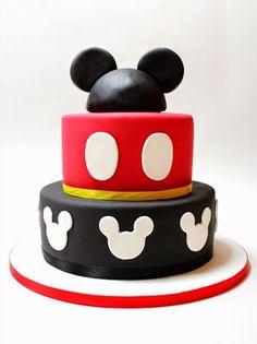 sabores da gula: Bolo Mickey