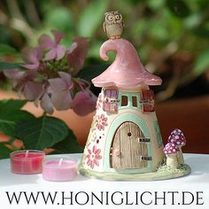 Fairy House Crafts, Clay Fairy House, Fairy Houses, Clay Crafts, Diy And Crafts, Fairytale House, Pottery Houses, Clay Fairies, Clay Houses