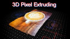 3D Extrude Pixel Slideshow (3D Object) #Envato #Videohive #aftereffects