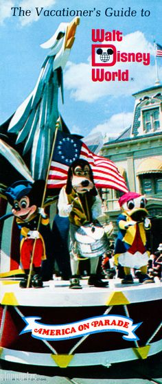 Disney World 1976, the first time we went there, during the height of the Bicentennial