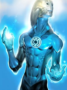 Saint walker (Blue Lantern Corp): There is always hope. Dc Comics Heroes, Dc Comics Art, Marvel Comics, Injustice 2 Comic, Blue Lantern Corps, Black Lantern, Green Lanterns, Comic Art, Comic Books