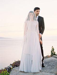 European weddings - photo by Aleksandra Semyonova http://ruffledblog.com/swiss-landscape-wedding-inspiration