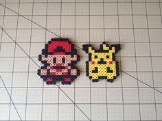 Pokemon perla Sprite Set  rojo & Pikachu por ToughTurtles en Etsy