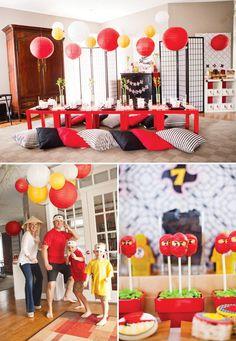 {Modern Ninjago Style} Ninja Birthday Party