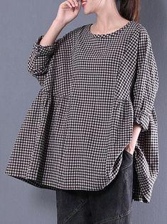 top quality cotton Long Sleeve Spring Lattice Shirt Salwar Suits Party Wear, Pakistani Fashion Casual, Stylish Dress Designs, Denim And Lace, Couture Tops, Kurta Designs, Linen Dresses, Lovely Dresses, Korean Fashion