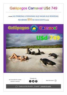 Galápagos Carnaval U$d 749
