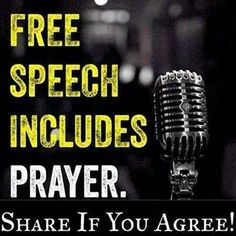 Keep prayer legal in USA!