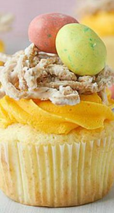 from taste and tell bird s nest cupcakes bird s nest cupcakes more ...