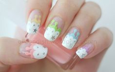 Melting Icing  | elleandish #nail #nails #nailart - https://www.facebook.com/different.solutions.page