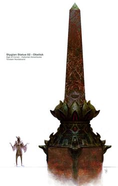 Stygian Artifact concept art from the video game Age of Conan: Unchained by Torstein Nordstrand